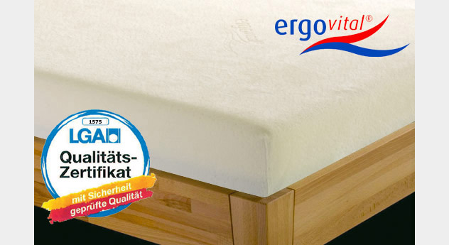 matratze ergovital cool max bezug. Black Bedroom Furniture Sets. Home Design Ideas